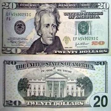 USD 20 Bills