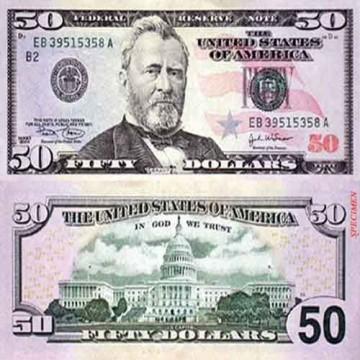 USD 50 Bills