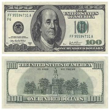 USD 100 Bills