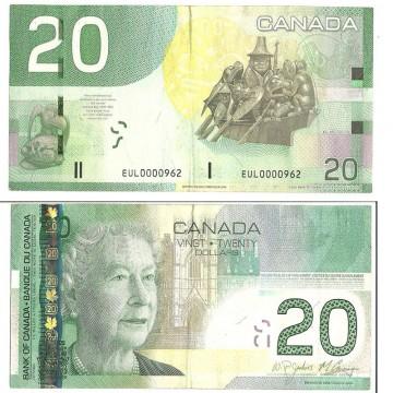 CAD 20 Bills