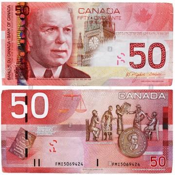 CAD 50 Bill