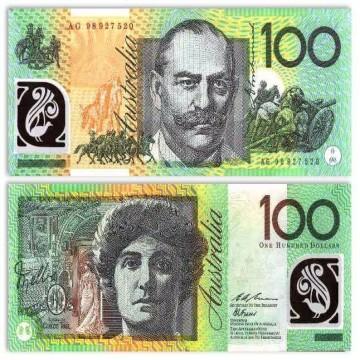 AUD 100 Bills