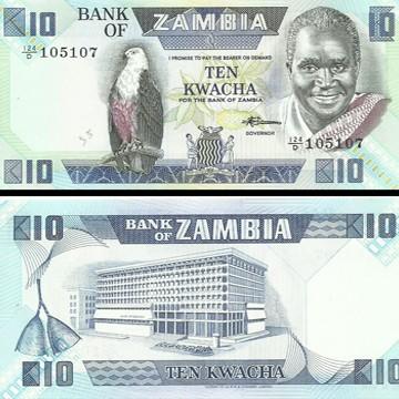 ZMW 10 Bills