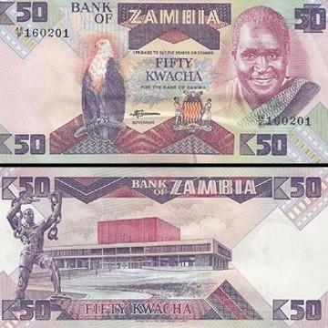 ZMW 50 Bills