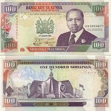KSH 100 Bills